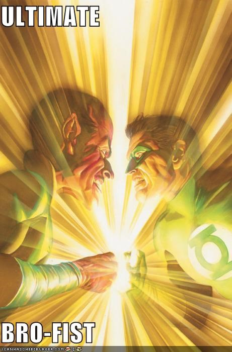 bro fist Green lantern sinestro Super-Lols - 5013211136