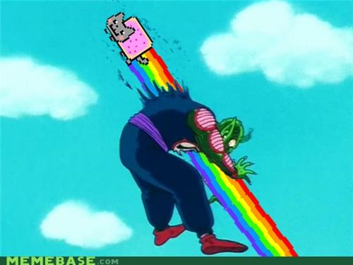 dragon ball,king,Nyan Cat,piccolo,remix,television
