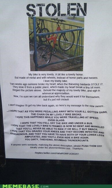 bike,IRL,jerks,Sad,stolen