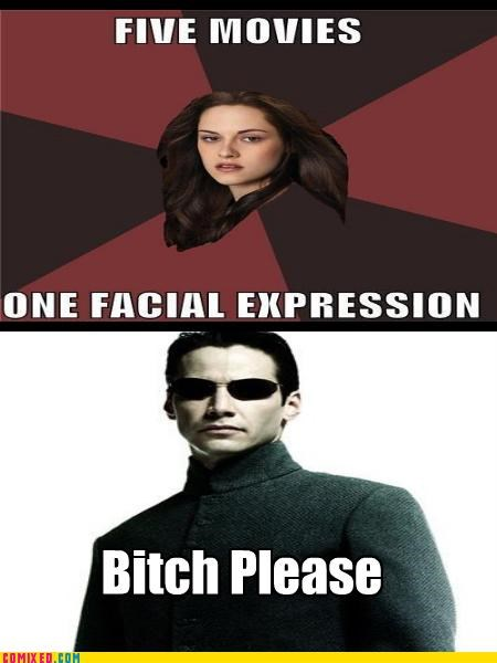 facial expressions From the Movies keanu kristin stewart mood twilight - 5014591744