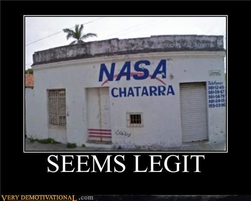 broken down building hilarious nasa seems legit wtf