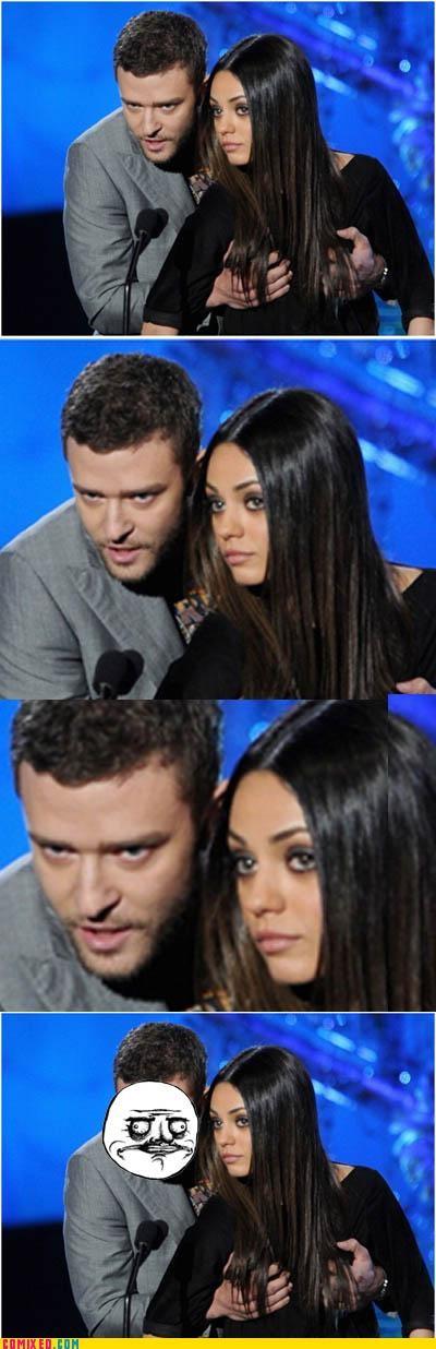 bewbs celebutard Justin Timberlake me gusta mila kunis - 5014989824