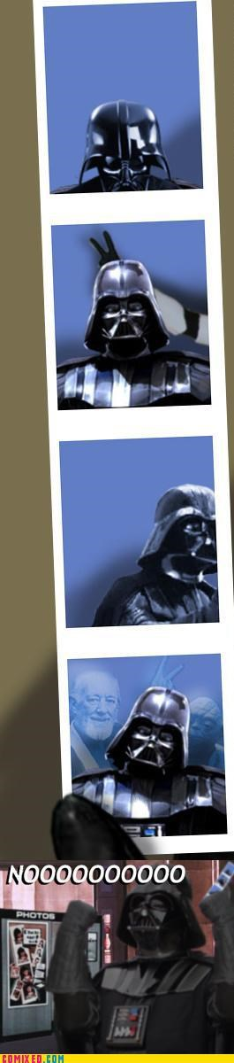 bomb darth vader photo booth star wars - 5015395840
