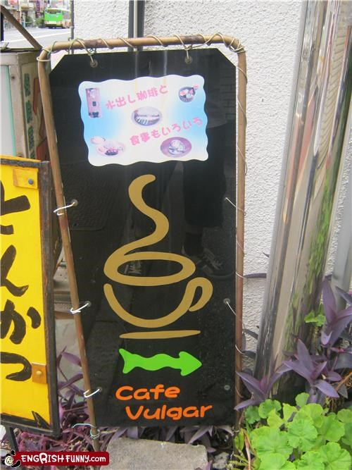 cafe coffee sign