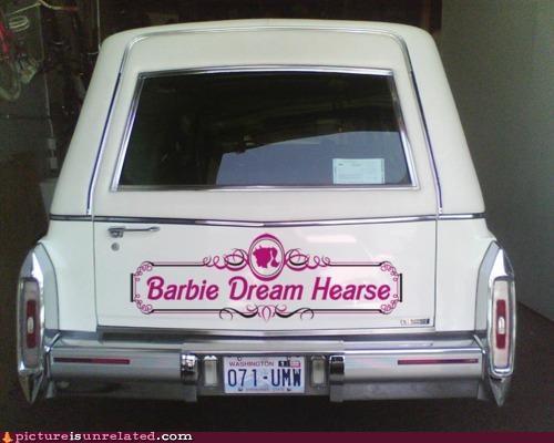 Barbie creepy hearse toys wtf - 5015755008