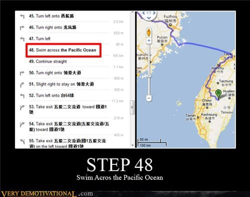 hilarious pacific ocean step 48 swim