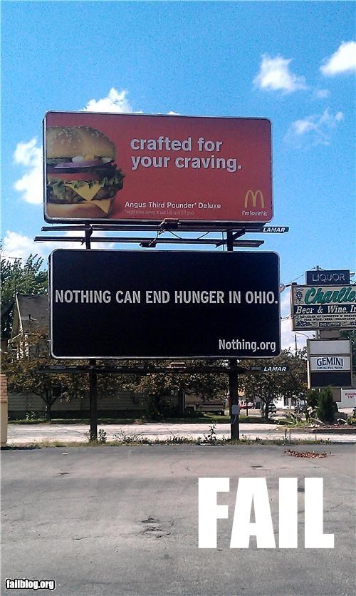 billboard,failboat,g rated,juxtaposition,McDonald's,signs