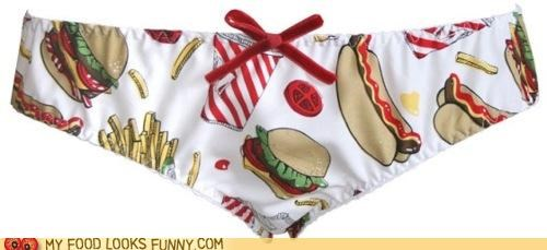 burger,clothing,panties,underwear,uniform