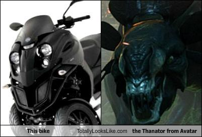 automobile,Avatar,bike,motorcycle,movies,thanator