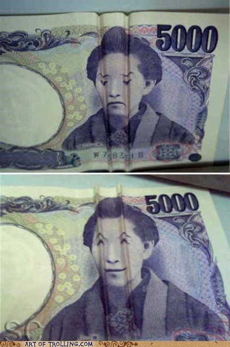 currency cute fold money - 5016361728