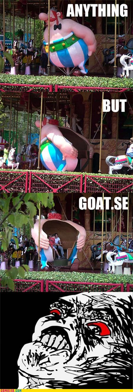 amusement park carousel goatse rage the internets - 5016388352