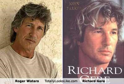 actors musicians pink floyd richard gere Roger Waters