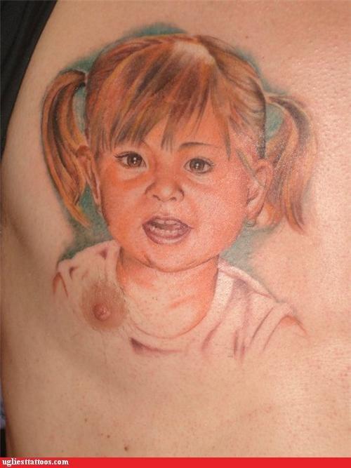 kids portraits The Interrupting Nipple - 5016634112