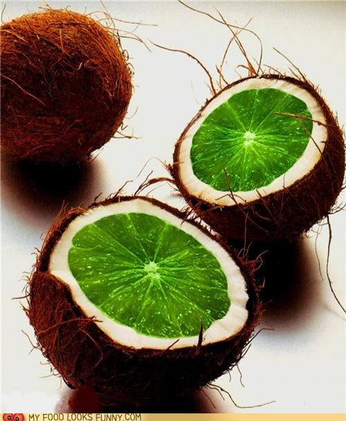 coconut,crazy,lime,mashup,photoshop