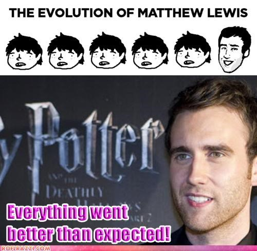 actor celeb evolution Matthew Lewis sexy - 5017202944