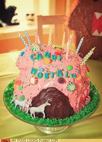 cake candy mountain charlie unicorn Video - 5017218048
