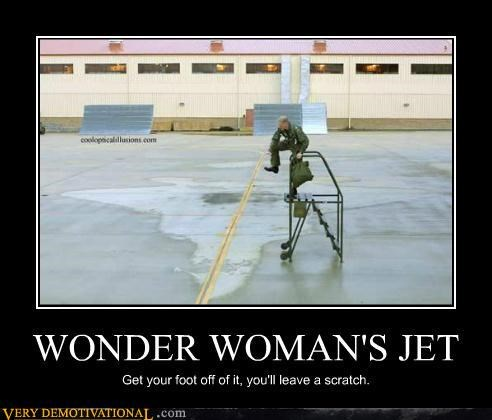 hilarious jet scratch wonder woman - 5017331712