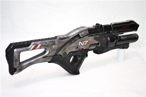 Fan Art guns mass effect 3 N7 rifle props Toyz video games volpin - 5017428736