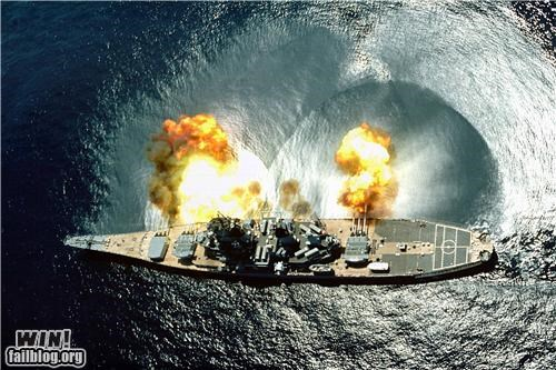 america,battleship,military,test fire