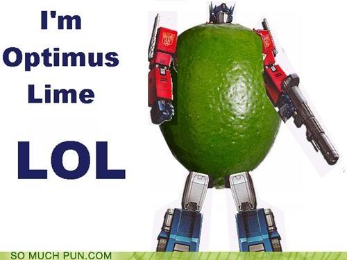 harry nillson lime literalism Michael Bay optimus prime rhyming transformers - 5017658112