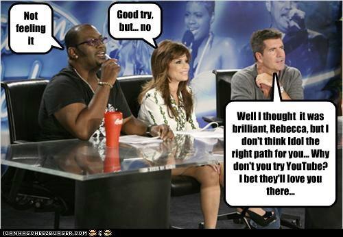 American Idol celeb funny paula abdul RAndy Jackson simon cowell - 5017784832