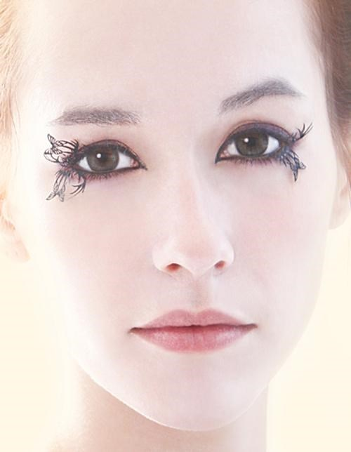 false eyelashes,Jainzhi,papercraft