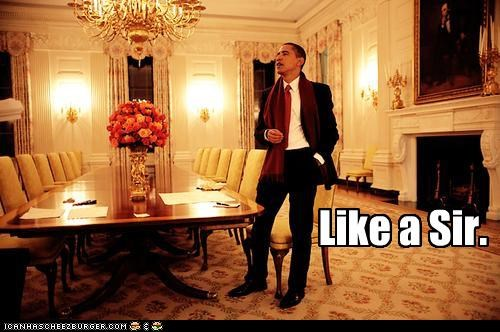 barack obama,dandy,fancy,Like a Boss,political pictures,politicians,president,Pundit Kitchen,sir