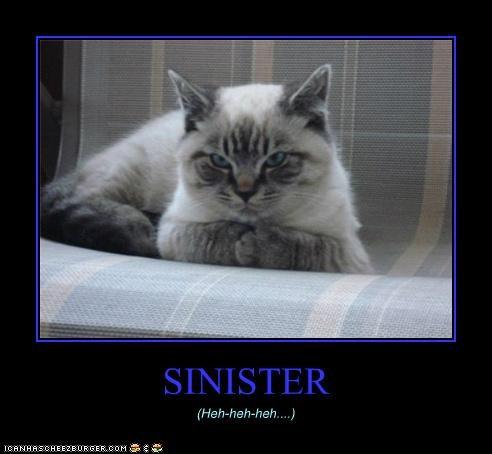 SINISTER (Heh-heh-heh....)