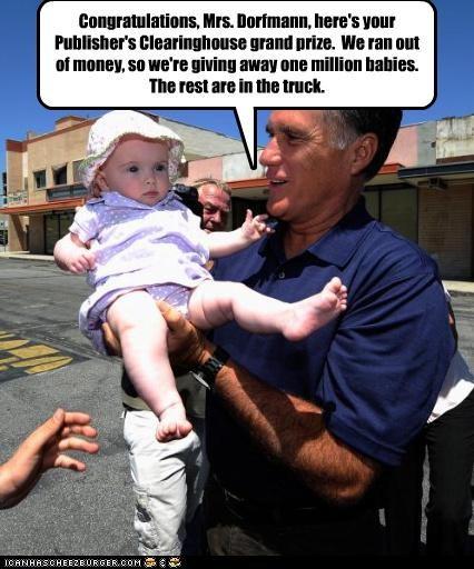 Babies baby Mitt Romney money politicians Pundit Kitchen - 5018353152