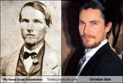 My Great Great Grandfather. Totally Looks Like Christian Bale