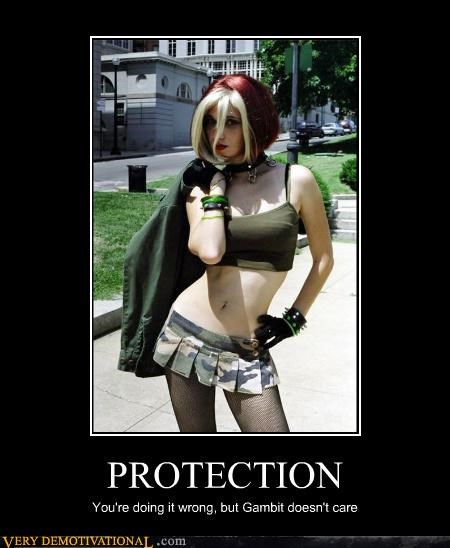 gambit protection Pure Awesome rogue superheroes - 5018428928