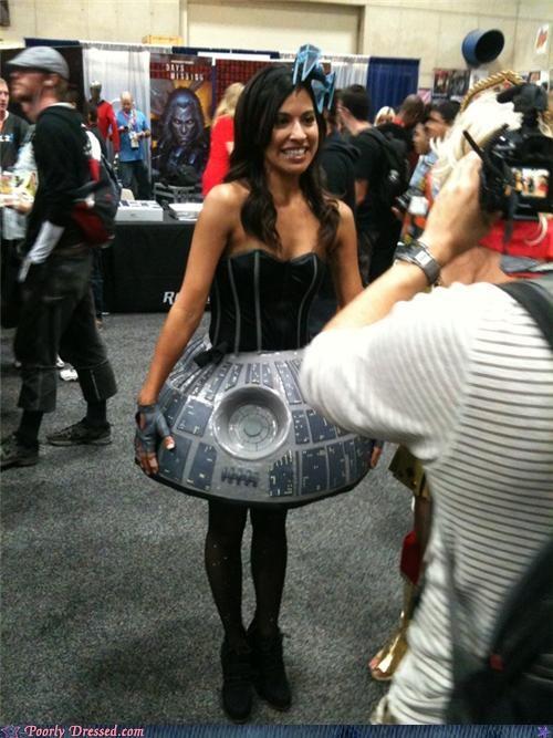comic con Death Star dress - 5019396608