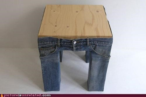 clothes,jeans,pants,table,wtf