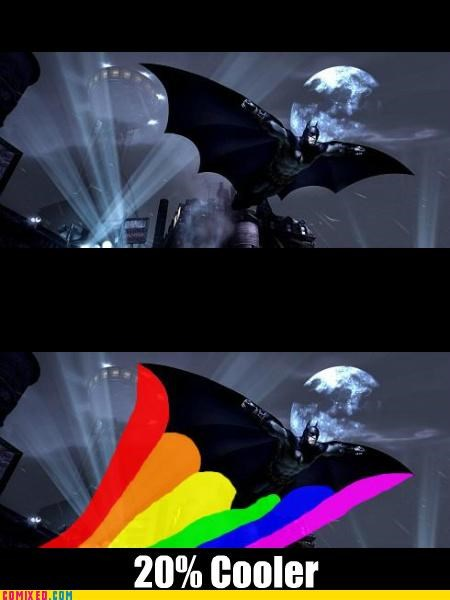 20 Percent Cooler batman rainbow dash - 5019517696