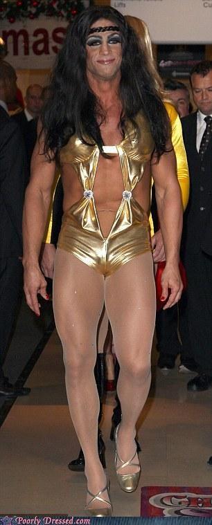 Conan the Barbarian cross dressing drag