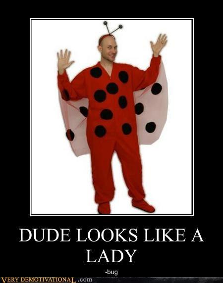 costume dude hilarious lady bug - 5020128768