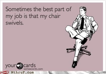 ecard office chair spin swivel