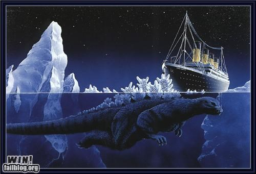 godzilla,nerdgasm,titanic,what actually happened