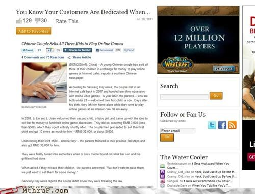 ads advertising meta online games world of warcraft