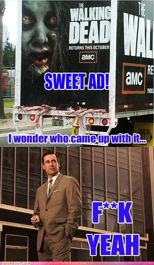 amc mad men The Walking Dead TV - 5020713216