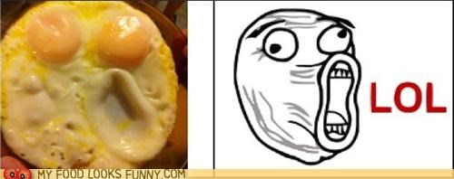 eggs,face,lol,Rage Comics,totally looks like