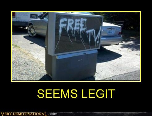 free hilarious seems legit spray paint TV - 5020824576