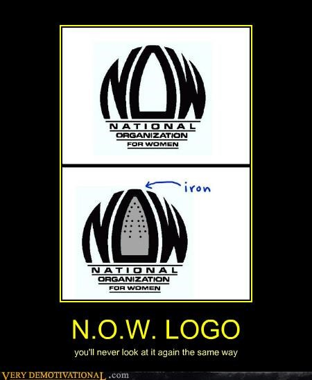 hilarious,iron,logo,now