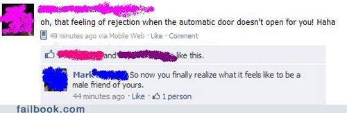 automatic door,oh snap,prudes,witty reply