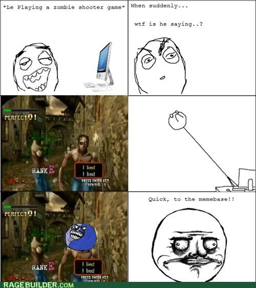 i lied,me gusta,Rage Comics,video games