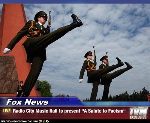 fascism fox news military Pundit Kitchen salute - 5021008384