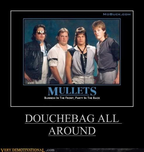 80s douchebag hilarious mullets - 5021380608