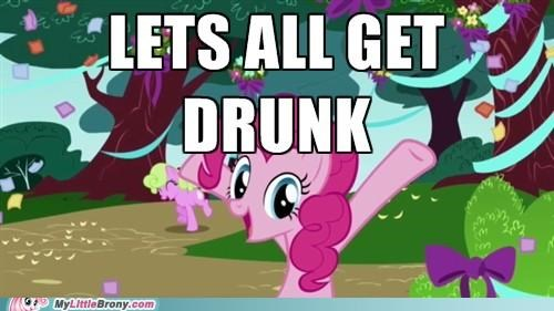 alcohol drink drunk pinkie pie - 5021468928