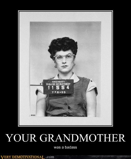 grandmother prison Pure Awesome tough - 5021645056
