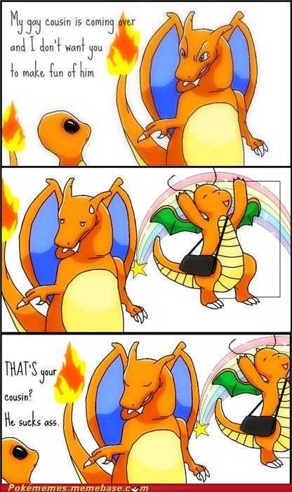 charizard charmander dragonite gay LGBT - 5021656320